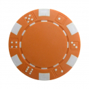 Poker Chips Dice 11,5 g orange