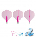 Cosmo Flight Set (3 Stk.) Fit AIR Standard Polyester pink