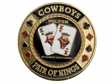 Poker Card Guards Cowboys d: 40 mm