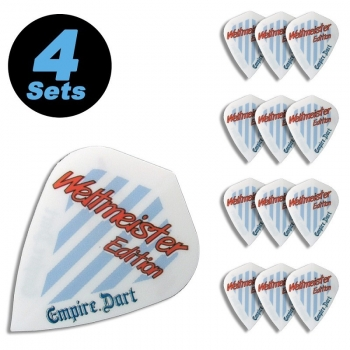 "4 Flight Sets (12 Stk) Kite Metronic ""Weltmeister Edition"""