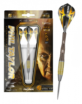 26 g Steel Dartset (3 Stk.) Power 9Five Phil Taylor Generation 3