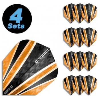 4 Flight Sets (12 Stk) Standard Vision Ultra 4 orange