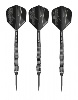Steel Dartset (3 Stk) Power8Zero 4 Black Titanium